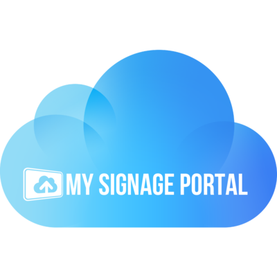 Network CMS | My Signage Portal | Cloud Software Subscription