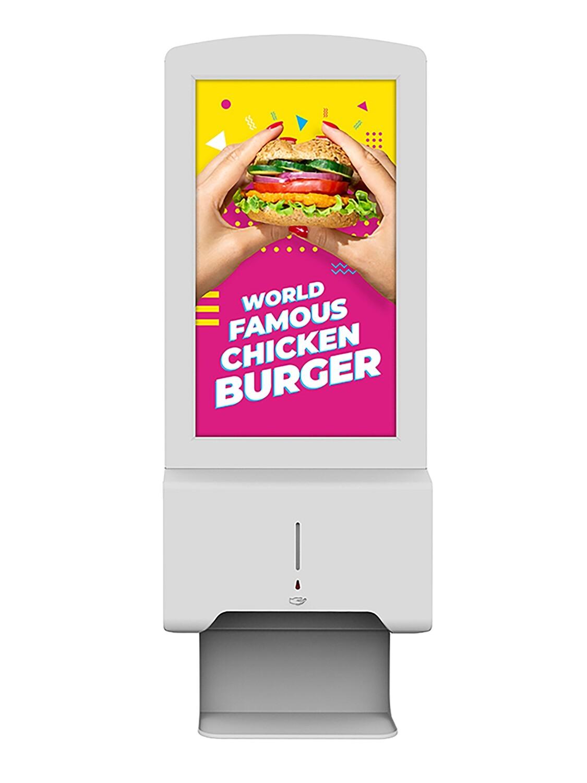 Hand Sanitiser Advertising Display