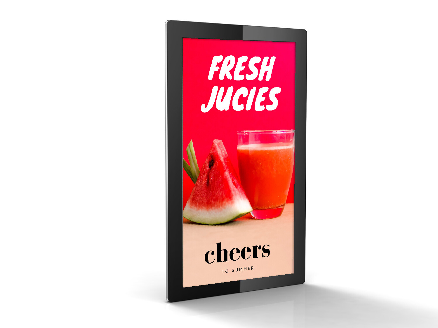 Digital Advertising Display | Large Screen Tablet