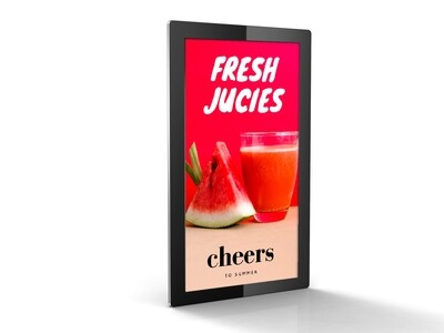 Advertising Display | Tablet Look Digital Display