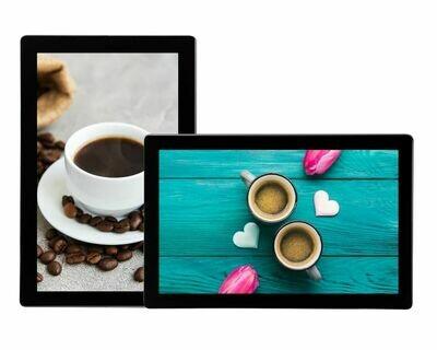 Advertising Display | Tablet Look Digital Menu Board USB Update