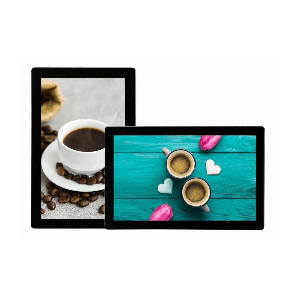 Advertising Display   Tablet Look Digital Menu Board USB Update