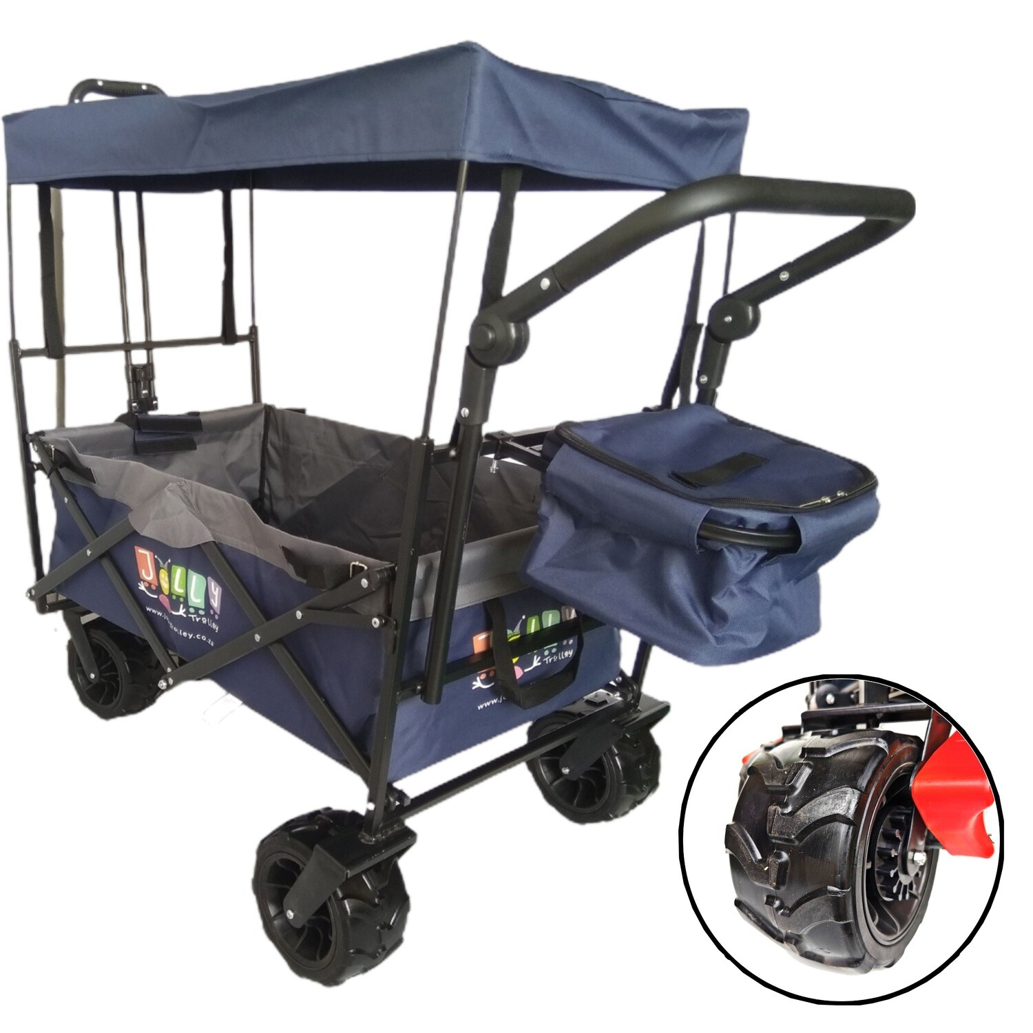 4X4 FAMILY PRE ORDER NOW  Jolly Trolley with Canopy and Cooler bag