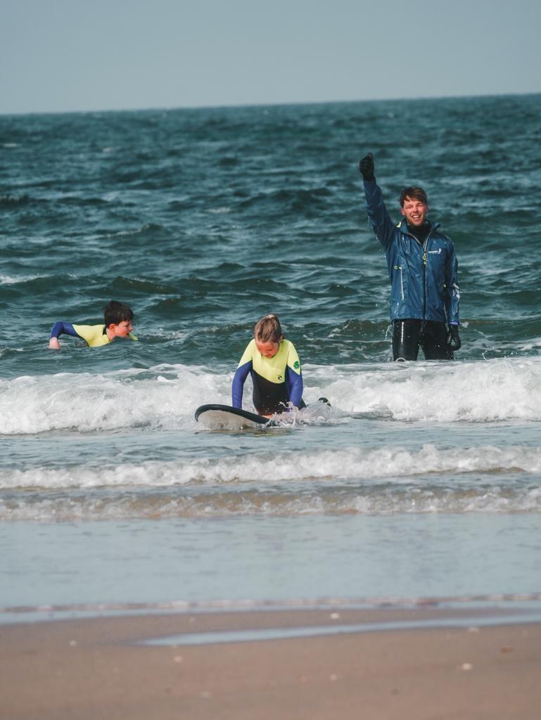 Surfkurs / Wellenreiten