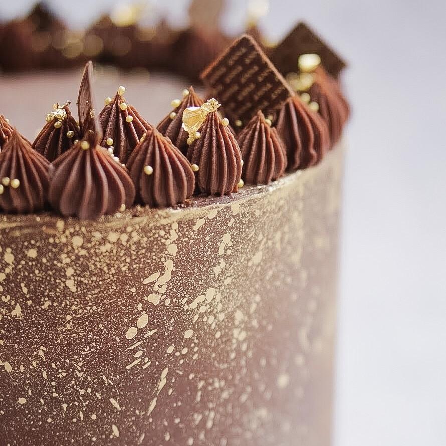 Vegan Luxury Chocolate Cake