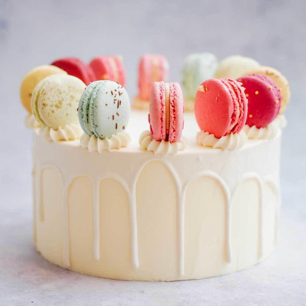 Macaron Cake (+ colours)