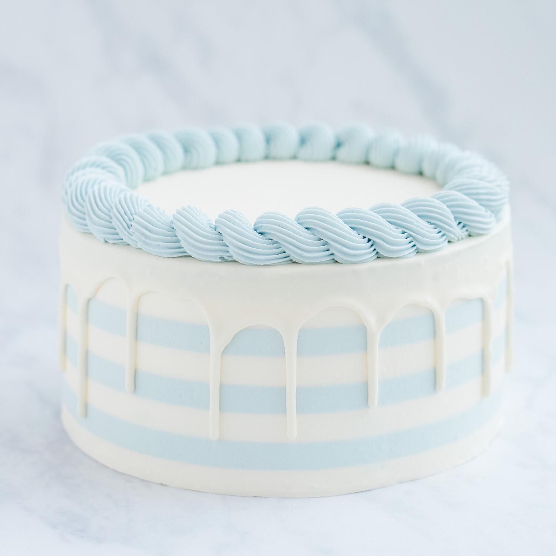 Pastel Stripes Cake (+ colours)