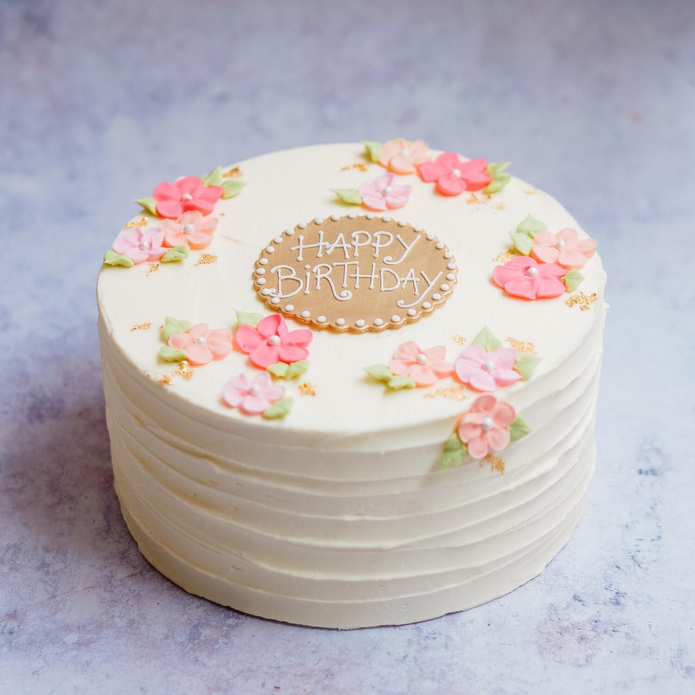 Pretty Flowers Cake (+ colours)