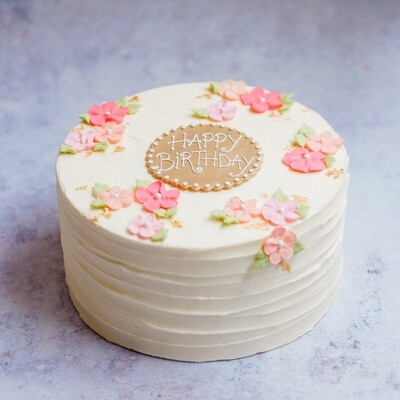 Pretty Flowers Cake (+ colours)