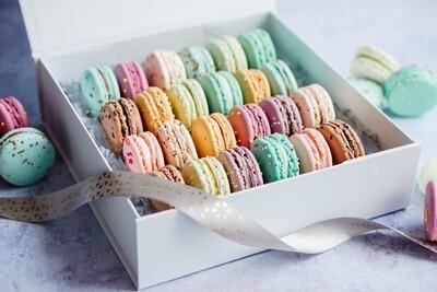 24 Piece Macaron Gift Box