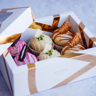 Mixed Half Dozen Cupcake Box