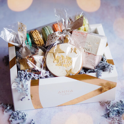 Personalised ANNA Christmas Gift Box