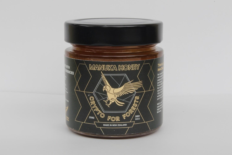 Manuka Honey 300+mgo 250g Glass  - Europe Only -