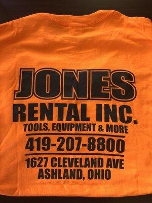 High Viz Jones Rental T-Shirt