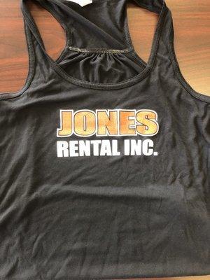 Jones Rental Ladies Tank