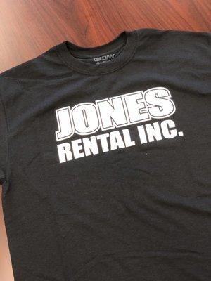 Black & White Jones Rental T-Shirt