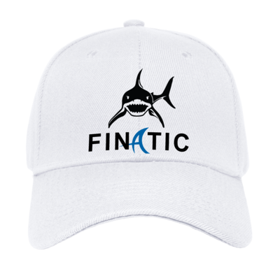 PREMIUM CNC SHARK FINATIC LOGO HAT