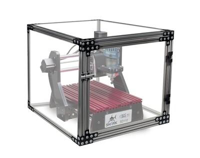 CNC SAFETY ENCLOSURE FOR PIRANHA FX, SD100, SD110 MODELS