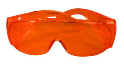 455nm Laser Blocking Glasses w/case