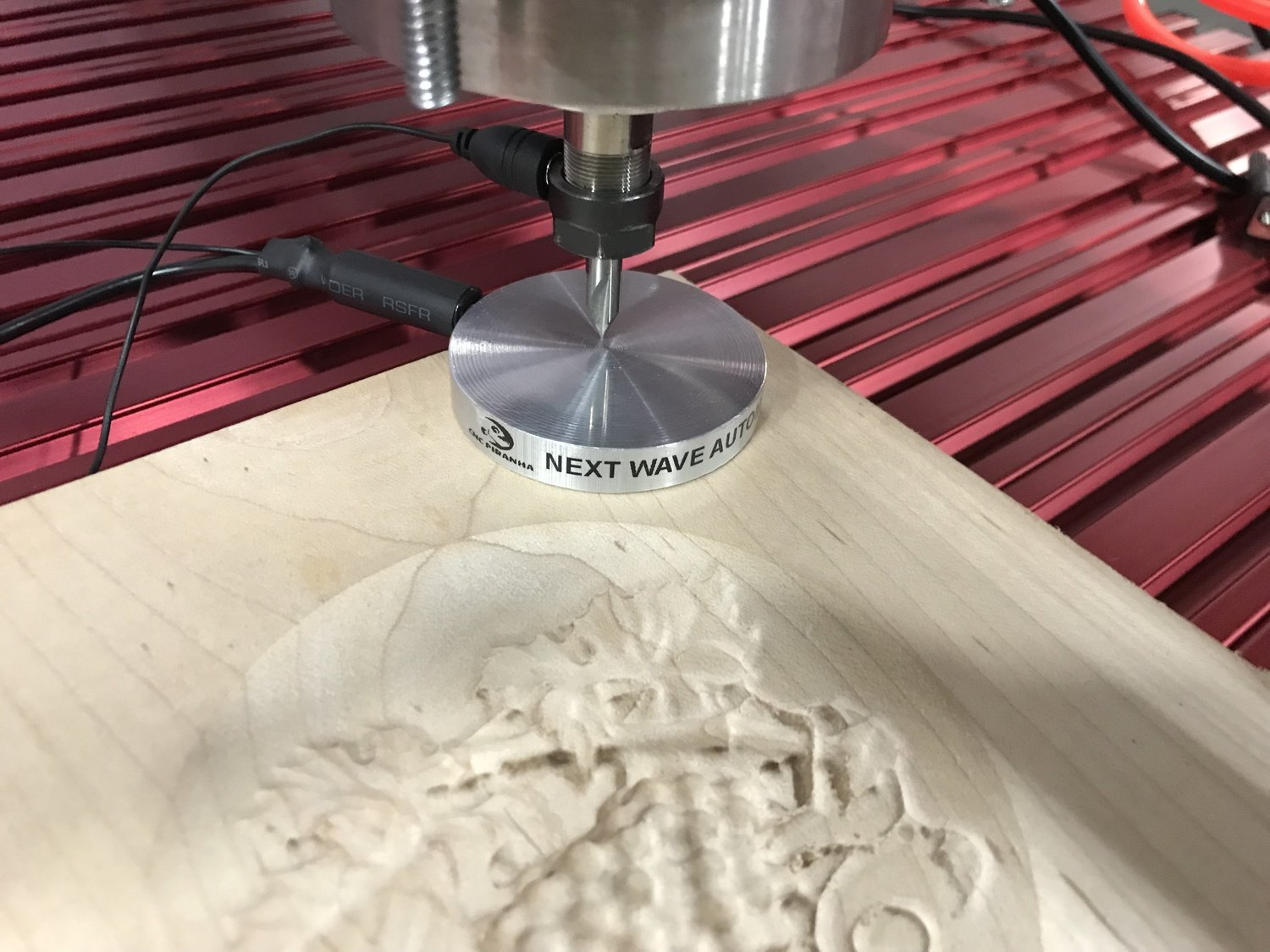 NEXT WAVE CNC TOUCH PLATE