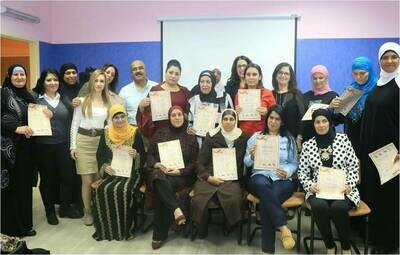 Employment workshop session for unemployed Afula residents