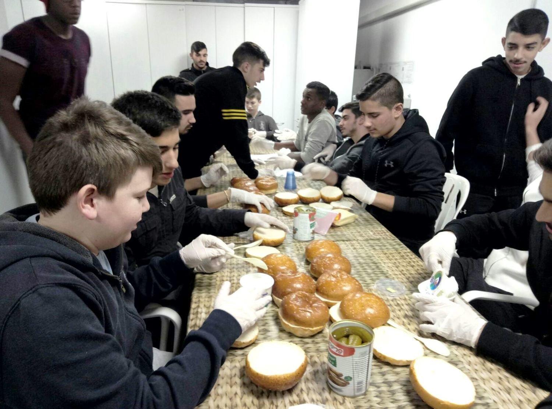 Sandwiches for Underprivileged Children in Afula