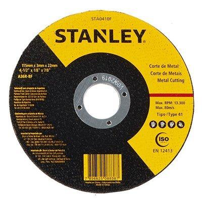 "DISCO CORTE STANLEY  7"" X 7/8"" X 1,6 METAL"