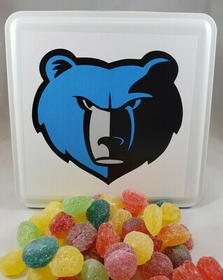 Oak Grove Grizzlies Candy Tin with 13.5 oz. of Candy - Your Choice