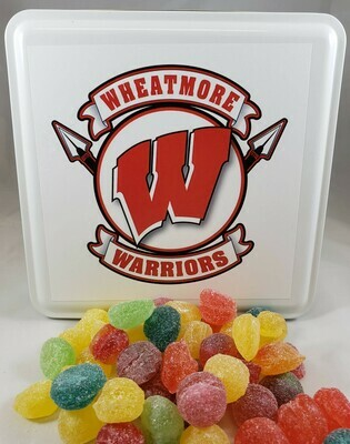 Wheatmore Warriors Candy Tin with 13.5 oz. of Candy - Your Choice