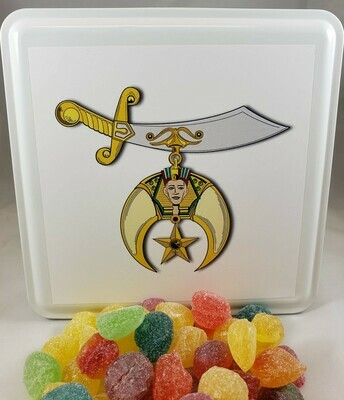 Shrine Candy Tin with 13.5 oz. of Candy - Your Choice