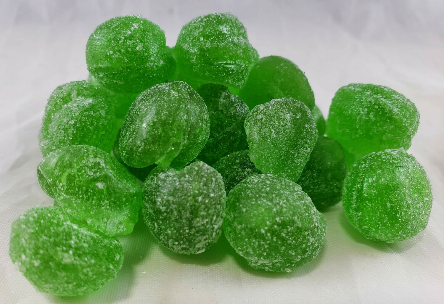 Sour Apple Hard Candy Drops