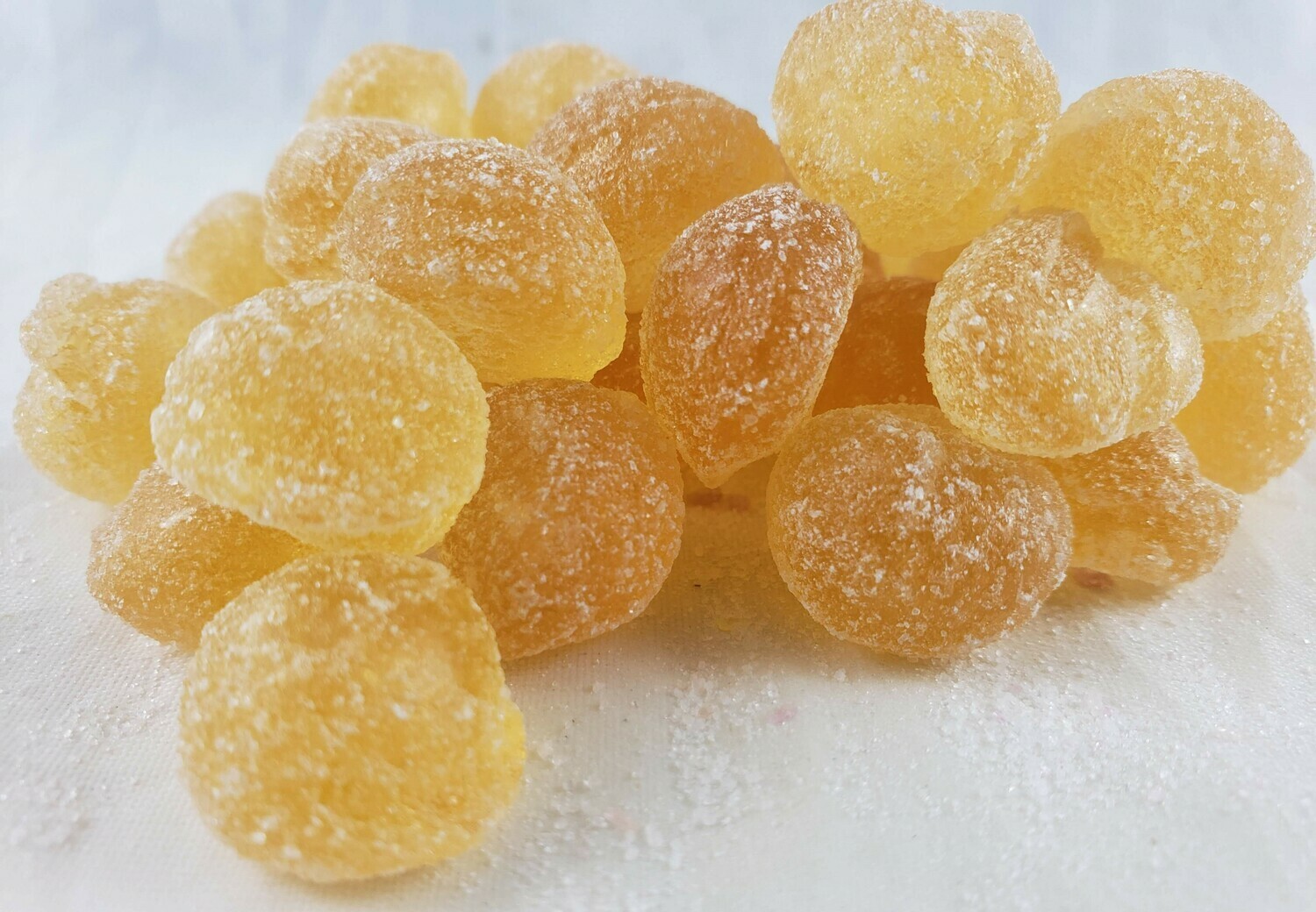 Ginger Hard Candy Drops
