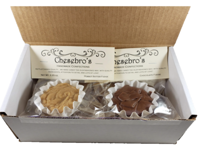 Creamy Handmade Fudge Half Pound+ Mix and Match Up to 4 Flavors