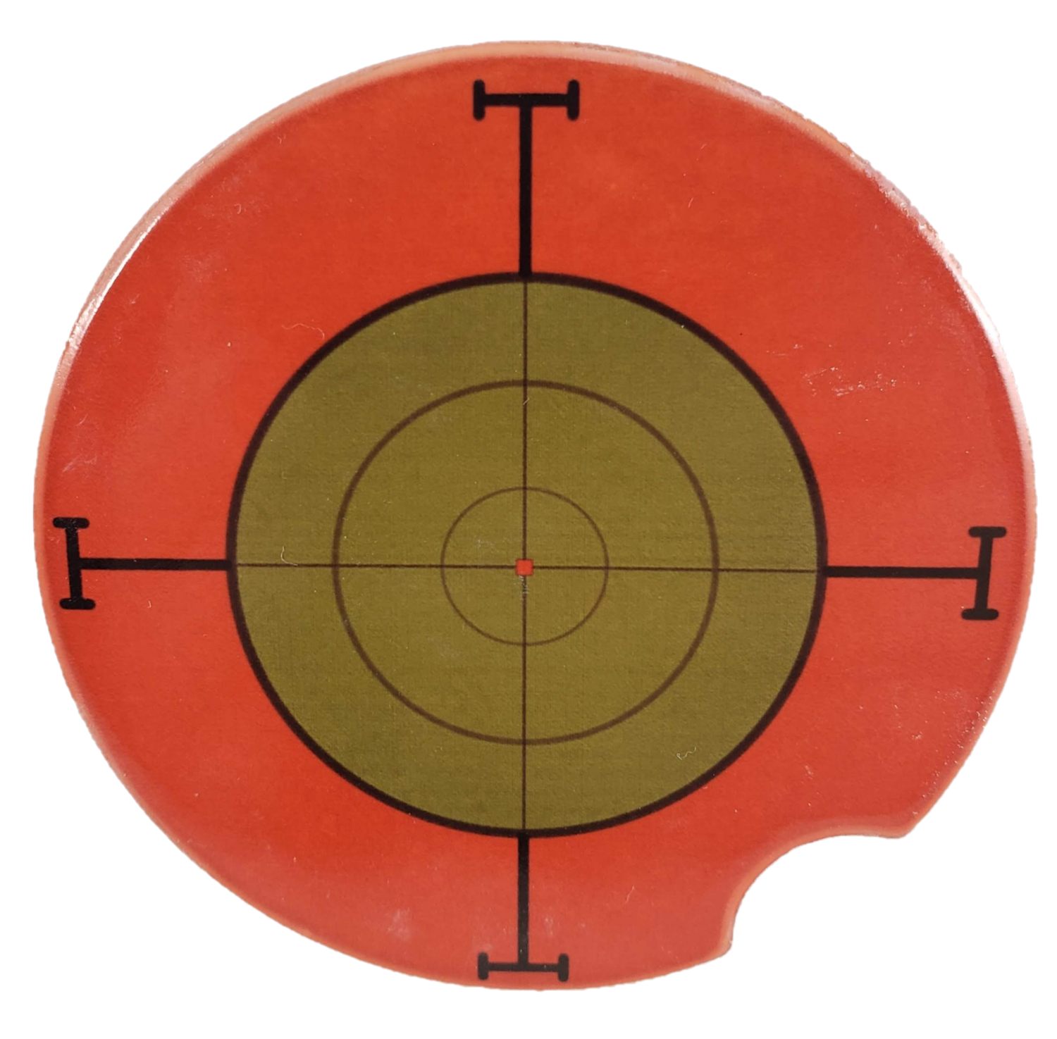 Sniper Target Ceramic Car Coaster - Set of Two