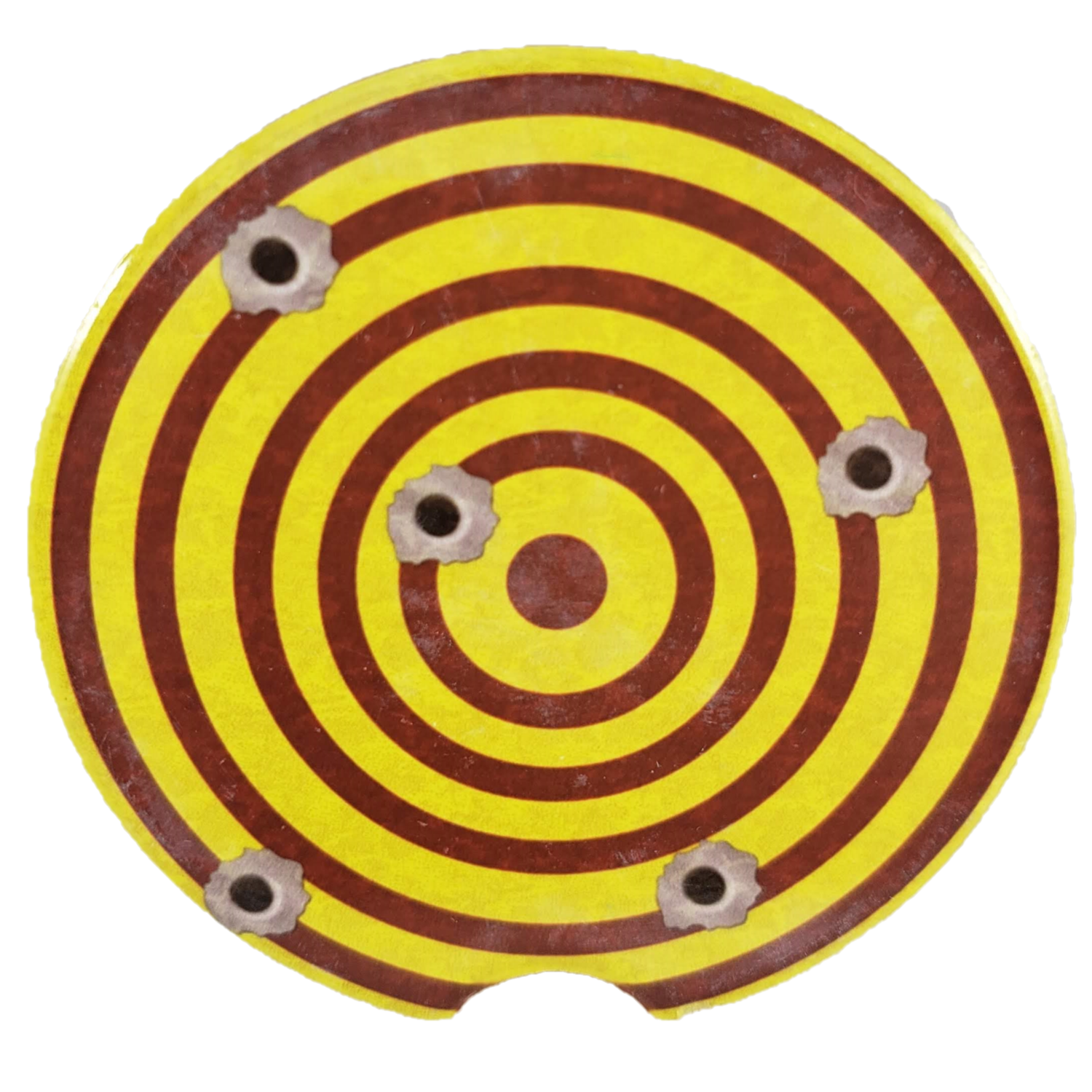Bullet Target Sandstone Car Coaster - Set of Two