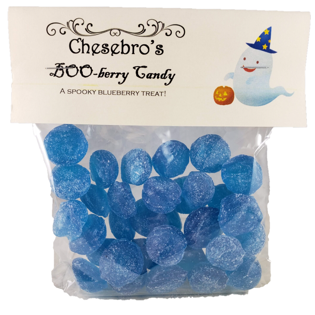 Boo-Berry Hard Candy Drops