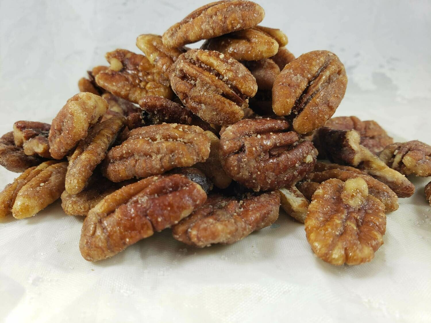 Cinnamon Whiskey Pecans