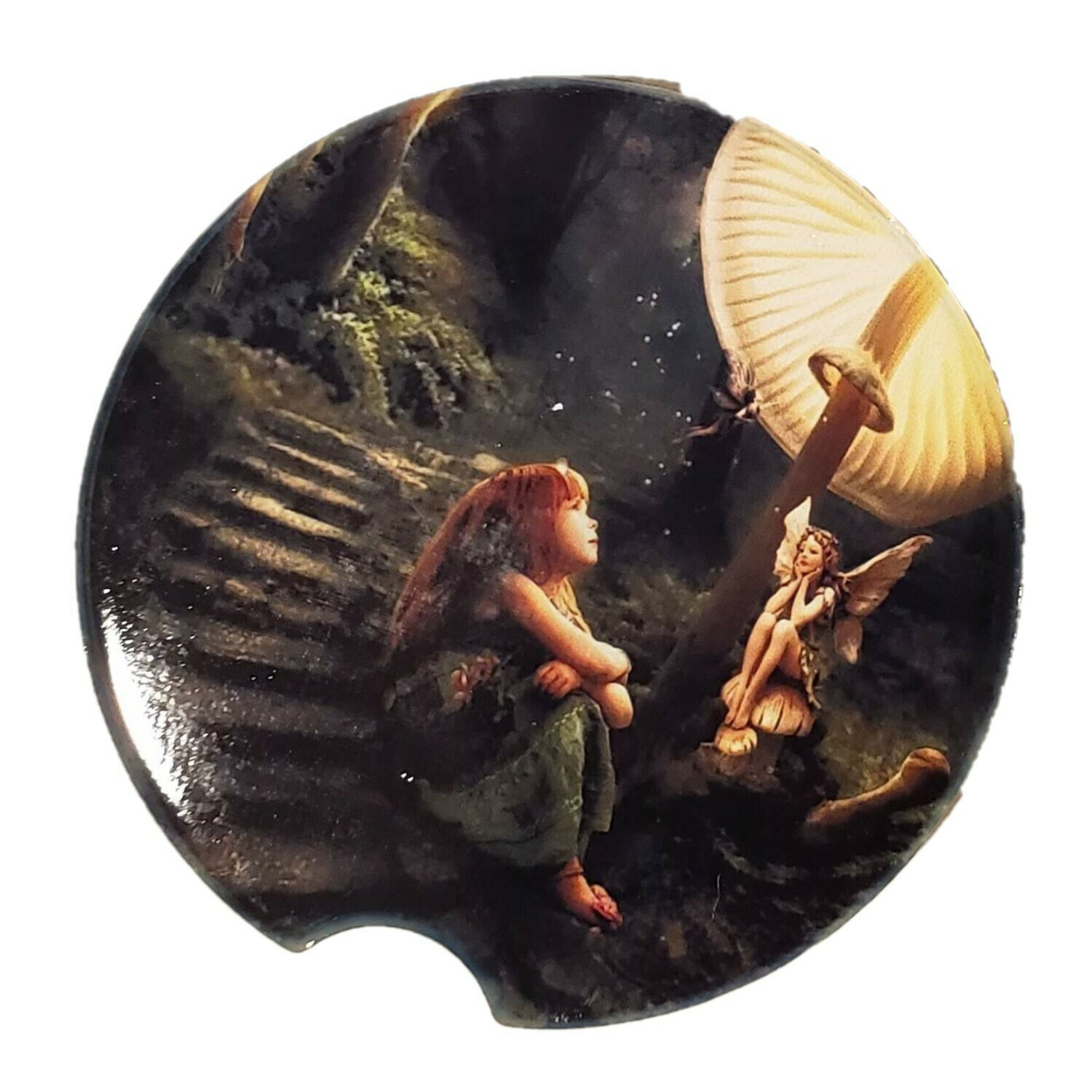 Fairy Car Coaster - Set of Two