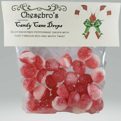 Candy Cane Hard Candy Drops