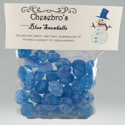 Blue Snowballs Hard Candy Drops