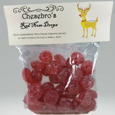 Rudolph's Red Nose Hard Candy Drops
