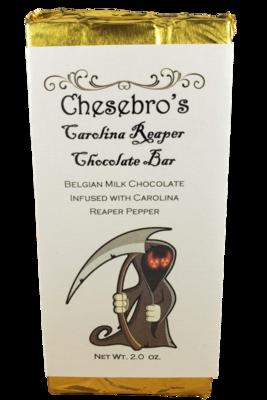 Milk Chocolate Carolina Reaper Chocolate Bar