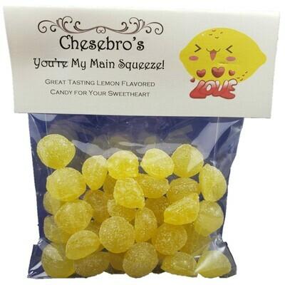 You're My Main Squeeze! Lemon Hard Candy Drops