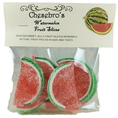 Gourmet Watermelon Flavor Jelly Fruit Slices