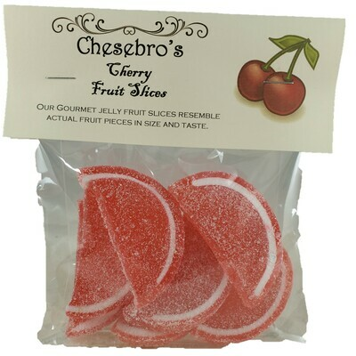 Gourmet Cherry Flavor Jelly Fruit Slices