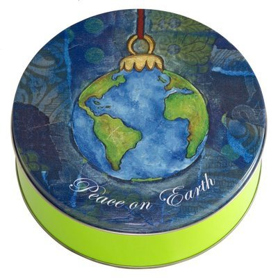 Peace on Earth Candy Tin with 13.5 oz. of Candy - Your Choice and Free Shipping