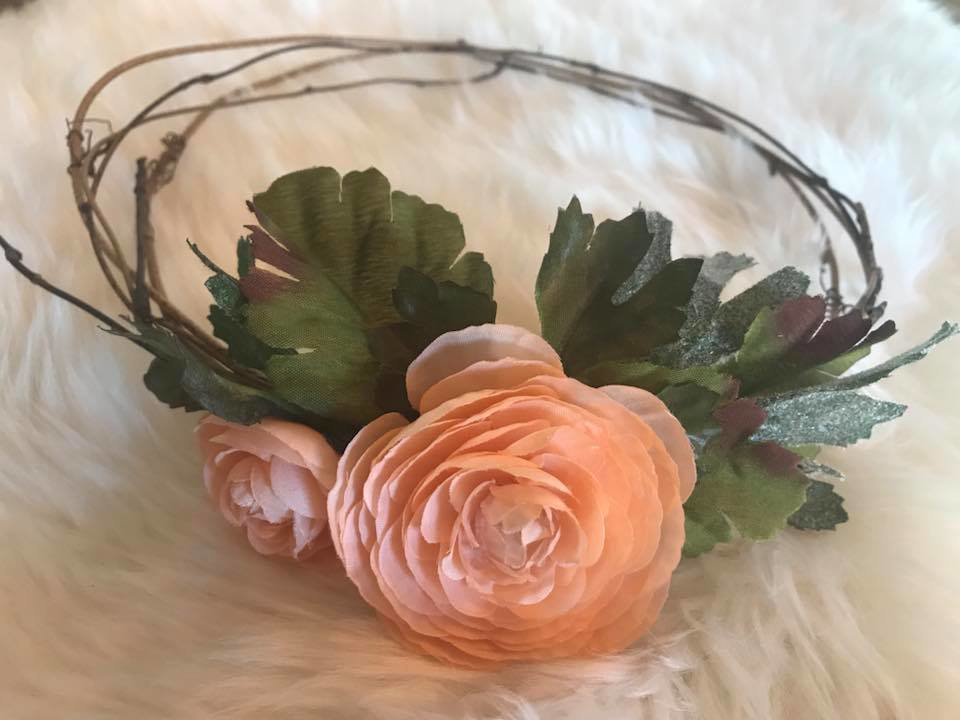 Rose Floral Crown