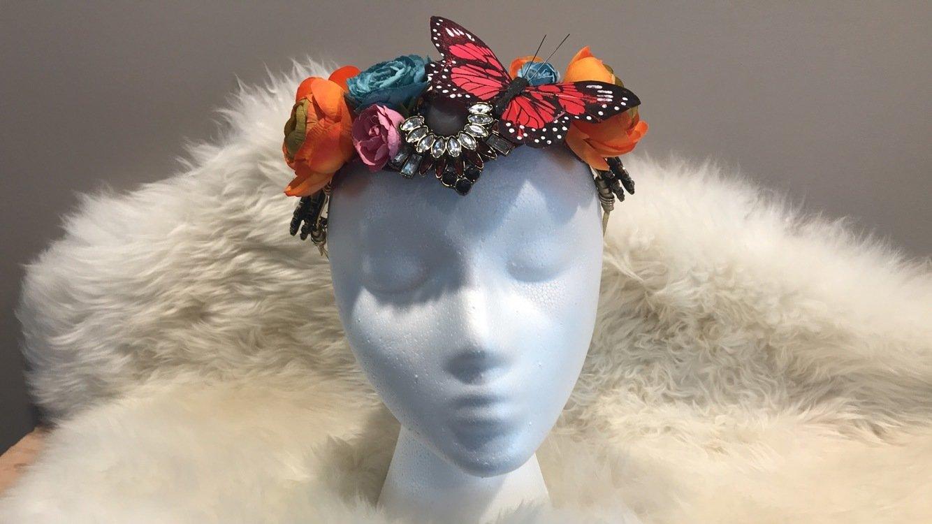 Butterfly Festival Crown