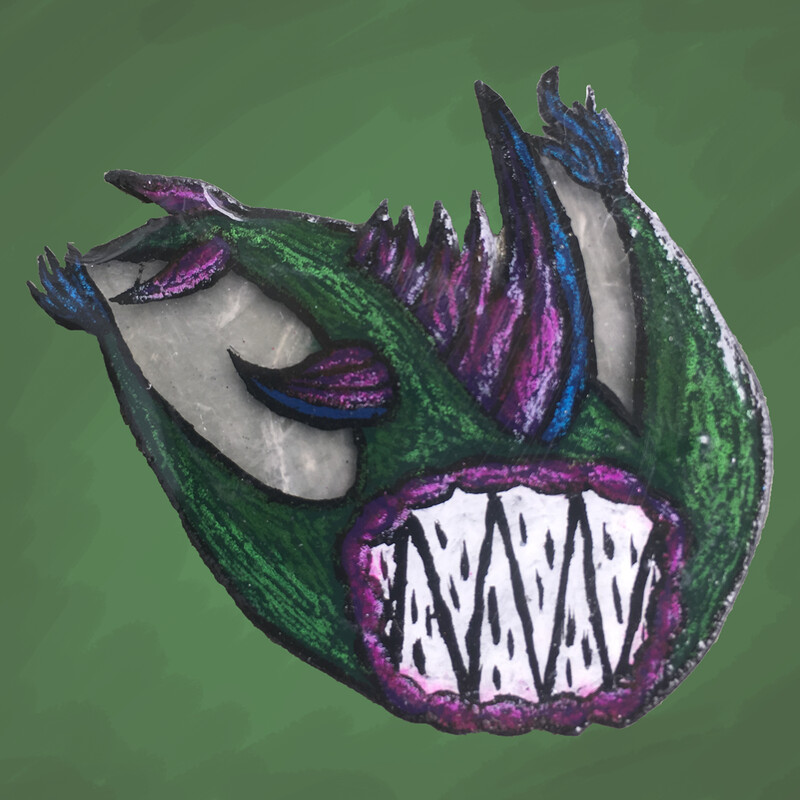 Twilight Leech Pin
