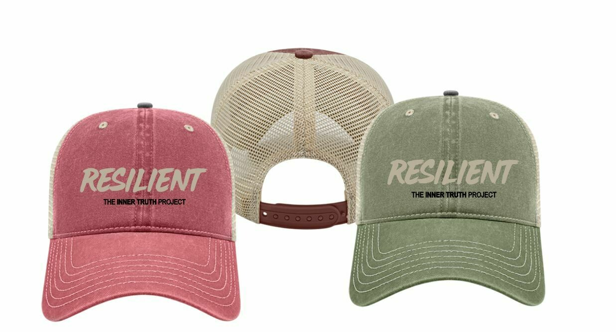 Embroidered Pigment Washed Cap